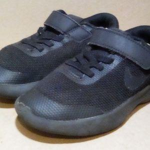 Black Nike Kids Flex Experience Run 7 Sneakers